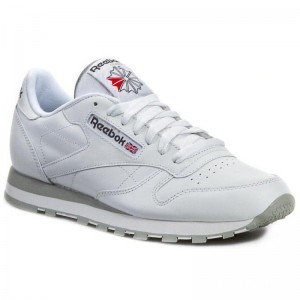 Black Friday 2020 | Reebok Chaussures Cl Lthr 2214 White/Light Grey