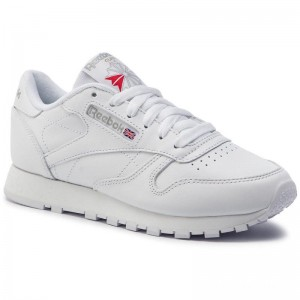 Black Friday 2020 | Reebok Chaussures Cl Lthr 2232 White