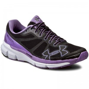 Under Armour Chaussures Ua W Charged Bandit 1258730-001 Blk/Vvl/Wht