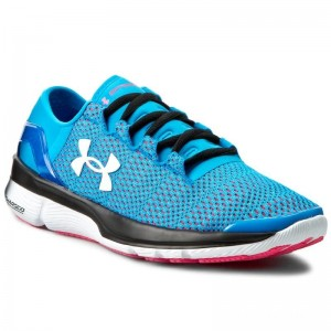 Under Armour Chaussures Ua W Speedform Turbulence 1289791-913 Dob/Hyr/Wht