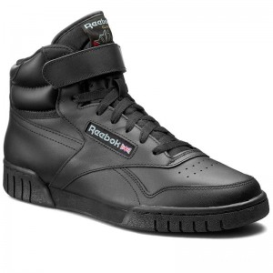 Black Friday 2020 | Reebok Chaussures Ex-O-Fit Hi 3478 Black Int