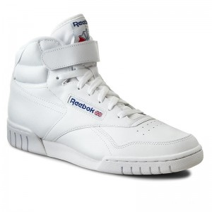 Black Friday 2020 | Reebok Chaussures Ex-O-Fit Hi 3477 White Int