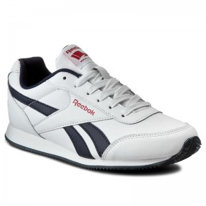 Black Friday 2020 | Reebok Chaussures Royal Cljog 2 V70490 Wht/Navy/Red