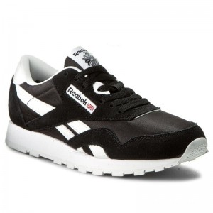 Reebok Chaussures Cl Nylon J21506 Black/White