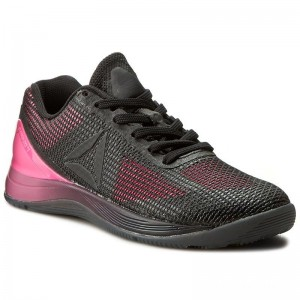 Black Friday 2020 | Reebok Chaussures R Crossfit Nano 7.0 BD5119 Pink/Black/White