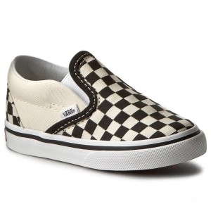 Black Friday 2020 | Vans Tennis Classic Slip-On VN000EX8BWW Blk&WhtCheckerboard/Wht