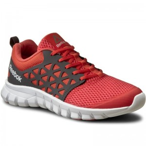 Black Friday 2020 | Reebok Chaussures Sublite Xt Cushion 2.0 Mt BD5540 Coral/Grey/WhtPwtr