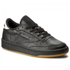 Black Friday 2020 | Reebok Chaussures Club C 85 Diamond BD4425 Black/Gum