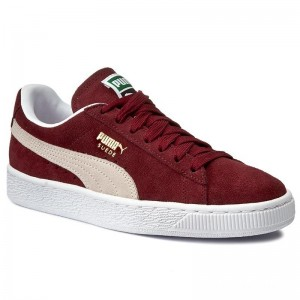 Black Friday 2020 | Puma Sneakers Suede Classic+ 352634 75 Cabernet/White