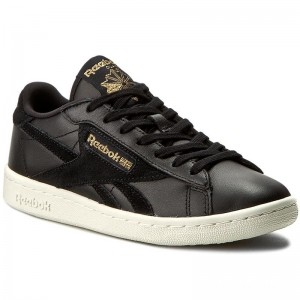 Black Friday 2020 | Reebok Chaussures Npc Uk Ad BD4632 Black/Classic White/Brass