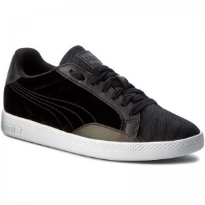 Puma Sneakers Match Swan Wn's 363175 01 Black/Puma Black