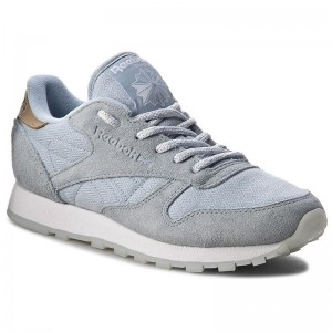 Black Friday 2020 | Reebok Chaussures Cl Lthr Sea-Worn BD1510 Gable Grey/White