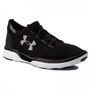Black Friday 2020 | Under Armour Chaussures Ua Charged Coolswitch Run 1285485-001 Blk/Wht/Wht