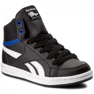 Reebok Chaussures Royal Prime Mid BS7327 Black/Vital Blue/White