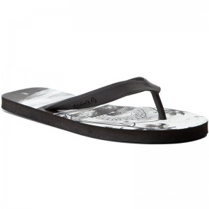 Reebok Tongs Cash Flip BS8549 Graphic/Black/White