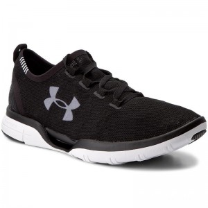Under Armour Chaussures Ua Charged Coolswitch Run 1285666-001 Blk/Wht/Wht 1