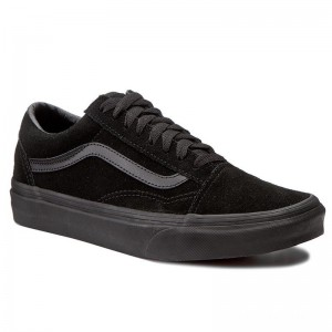 Black Friday 2020 | Vans Tennis Old Skool VN0A38G1NRI (Suede) Black/Black/Black