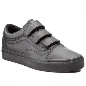 [Vente] Vans Chaussures basses Old Skool V VA3D29OOZ (Mono Leather) Black