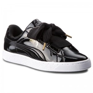 Black Friday 2020 | Puma Sneakers Basket Heart Patent 363073 01 Black/Puma Black