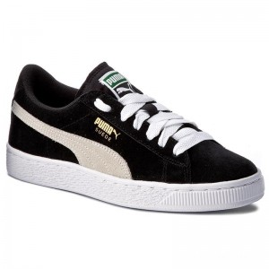 Puma Sneakers Suede Jr 355110 01 Black/White