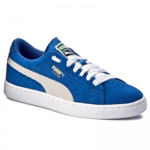 Puma Sneakers Suede Jr 355110 02 Snorkel Blue/White