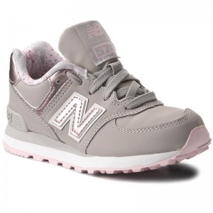 New Balance Sneakers KL574F1P Gris