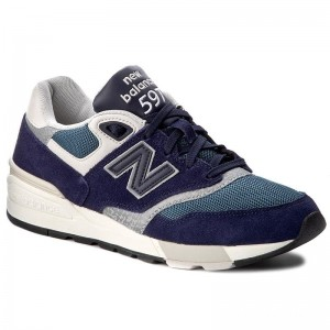 New Balance Sneakers ML597AAA Bleu marine