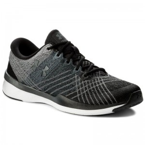 Under Armour Chaussures Ua W Threadborne Push Tr 1296206-001 Blk/Stl/Sty