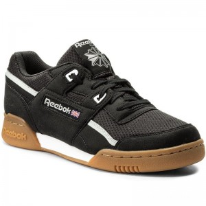Black Friday 2020 | Reebok Chaussures Workout Plus Mvs CM9927 Black/Stark Grey/White