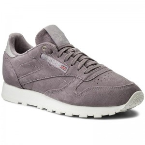 Reebok Chaussures Cl Leather Mcc CM9606 Paris/Chulk