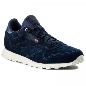 Black Friday 2020 | Reebok Chaussures Cl Leather Mcc CN0001 Blue Note/Chalk