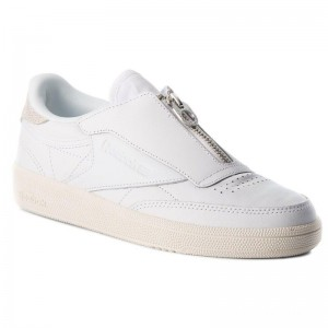 Reebok Chaussures Club C 858 Zip M CN0139 White/Chalk