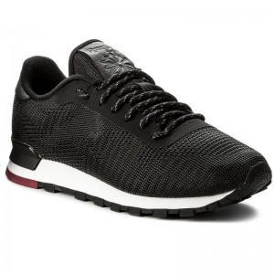 Black Friday 2020 | Reebok Chaussures Cl Flexweave CN2135 Black/White/Urban Maroon