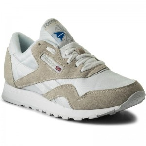 Black Friday 2020 | Reebok Chaussures Cl Nylon 6390 White/Light Grey