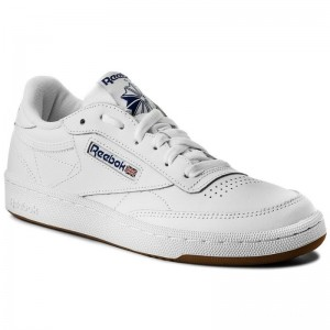 Black Friday 2020 | Reebok Chaussures Club C 85 AR0459 White/Royal/Gum