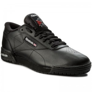 Reebok Chaussures Exofit Lo Clean Logo Int AR3168 Int Black/Silver