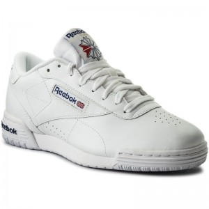 Black Friday 2020 | Reebok Chaussures Exofit Lo Clean Logo Int AR3169 Int White/Royal Blue
