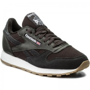 Reebok Chaussures Cl Leather Estl BS9719 Coal/White