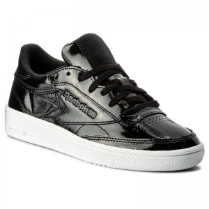 Reebok Chaussures Club C 85 Patent BS9777 Black/White