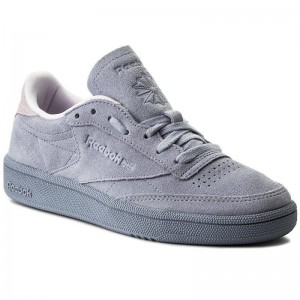 Reebok Chaussures Club C 85 Nbk CM9055 Purple Fog/Quartz