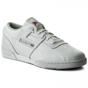 Reebok Chaussures Workout Low CN0636 Int White/Grey