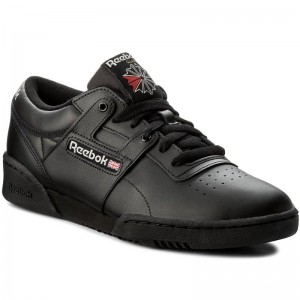 Reebok Chaussures Workout Low CN0637 Int-Black/Light Grey