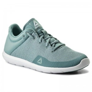Reebok Chaussures Studio Basics CN0727 Whisper Teal/White