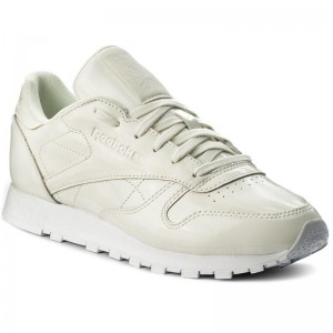 Black Friday 2020 | Reebok Chaussures Cl Lthr Patent CN0770 White
