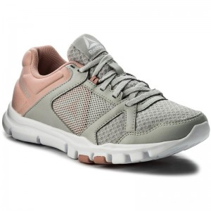 Reebok Chaussures Yourflex Trainette 10 Mt CN1251 Skull Grey/Chalk Pink/Wht