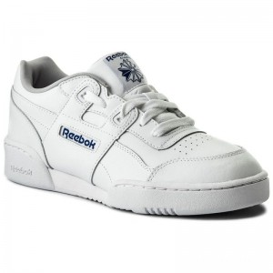 Black Friday 2020 | Reebok Chaussures Workout Plus CN1826 White/Steel/Royal