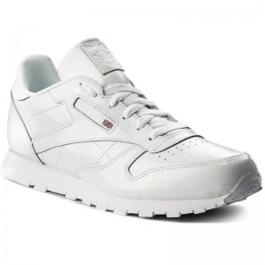 Black Friday 2020 | Reebok Chaussures Classic Leather Patent CN2063 White