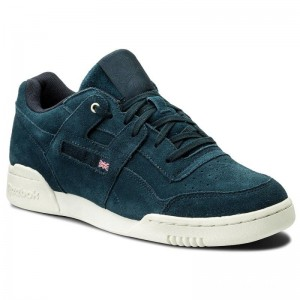 Reebok Chaussures Workout Plus Mcc CM9302 Navy/Chalk
