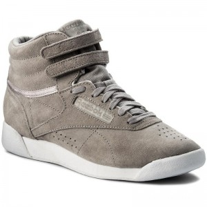Black Friday 2020 | Reebok Chaussures F/S Hi Nbk CN0606 Powder Grey/White