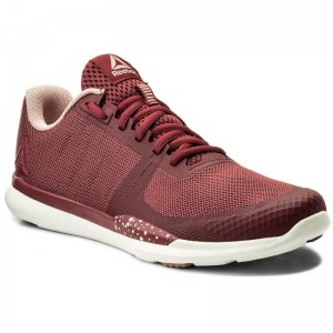 Black Friday 2020 | Reebok Chaussures Sprint Tr CN1230 Urban Maroon/Pink/Chalk